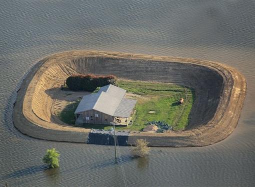 Inondazione-Yazoo-Mississippi